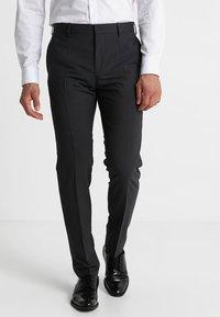 Tommy Hilfiger Tailored - Oblekové kalhoty - anthracite - 0