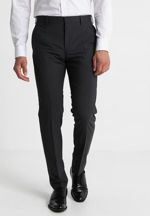 Oblekové kalhoty - anthracite