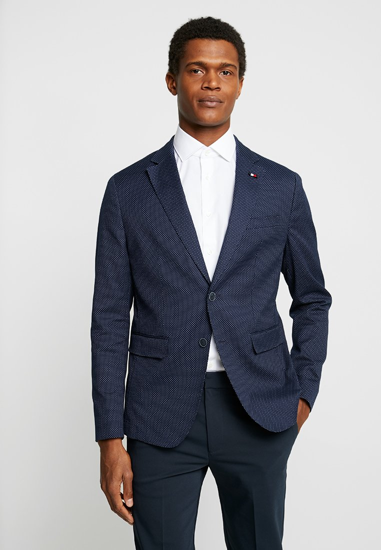 Tommy Hilfiger Tailored - FLEX SLIM FIT BLAZER - Sakko - blue