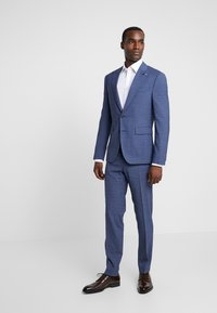 Tommy Hilfiger Tailored - FLEX SLIM FIT SUIT - Oblek - blue - 1