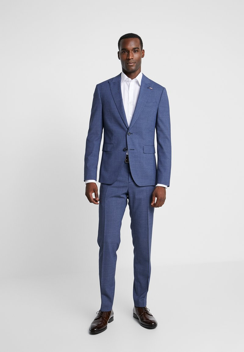 Tommy Hilfiger Tailored - FLEX SLIM FIT SUIT - Oblek - blue