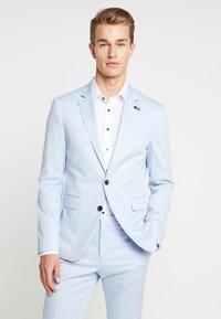 Tommy Hilfiger Tailored - FLEX SLIM FIT SUIT - Oblek - blue - 0