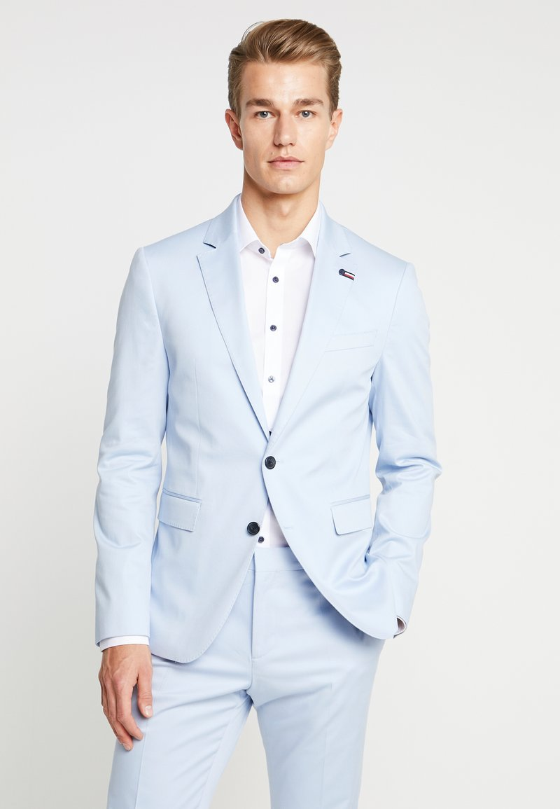 Tommy Hilfiger Tailored - FLEX SLIM FIT SUIT - Oblek - blue