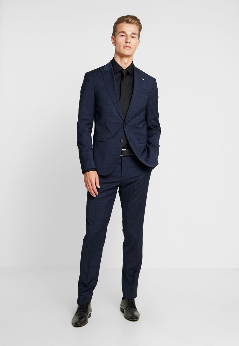 Tommy Hilfiger Tailored - FLEX SLIM FIT SUIT - Kostym - blue