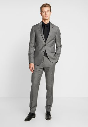 SLIM FIT SUIT - Costume - grey
