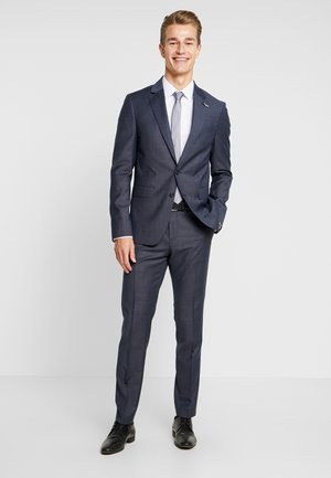 SLIM FIT SUIT - Oblek - blue