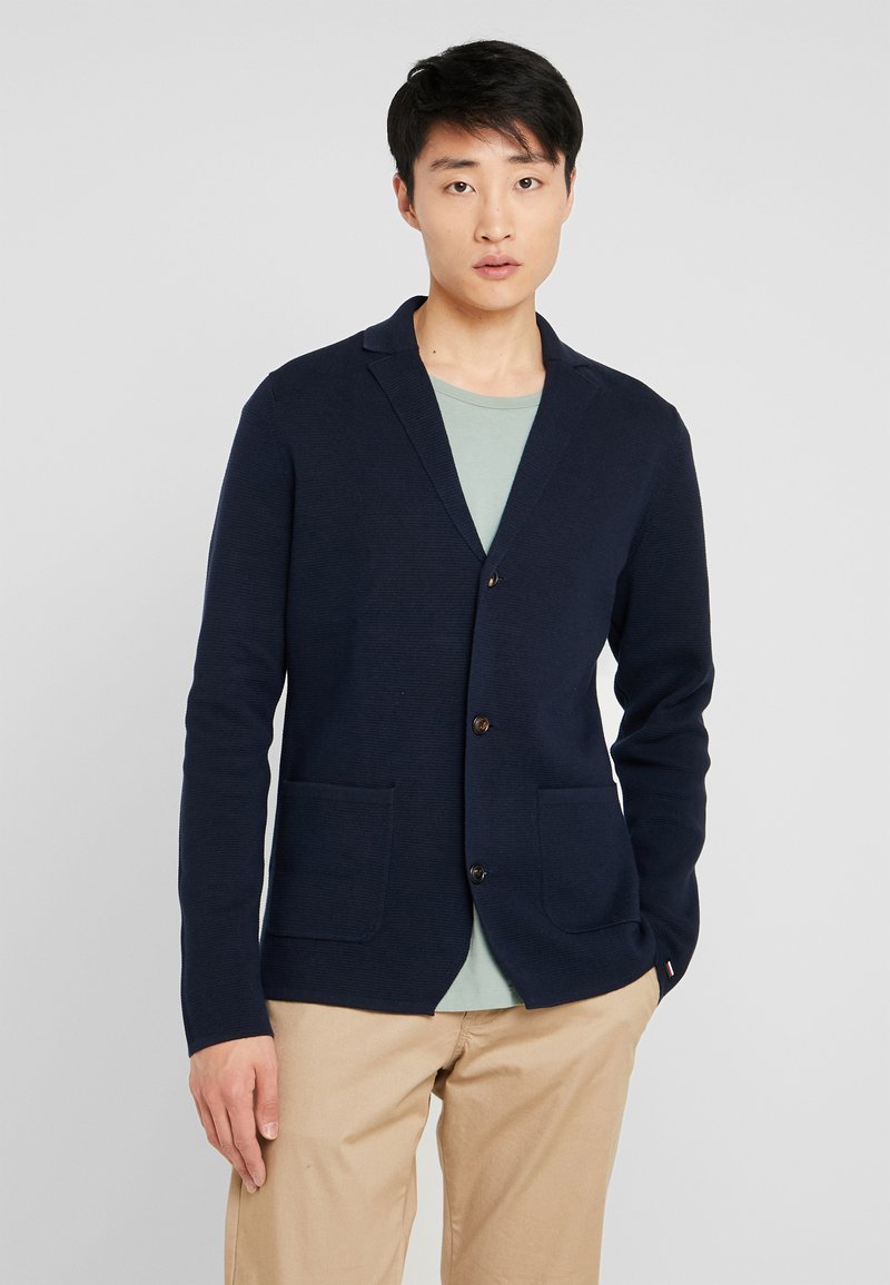 Tommy Hilfiger Tailored - SINGLE BREASTED BLAZER - Blazer jacket - blue