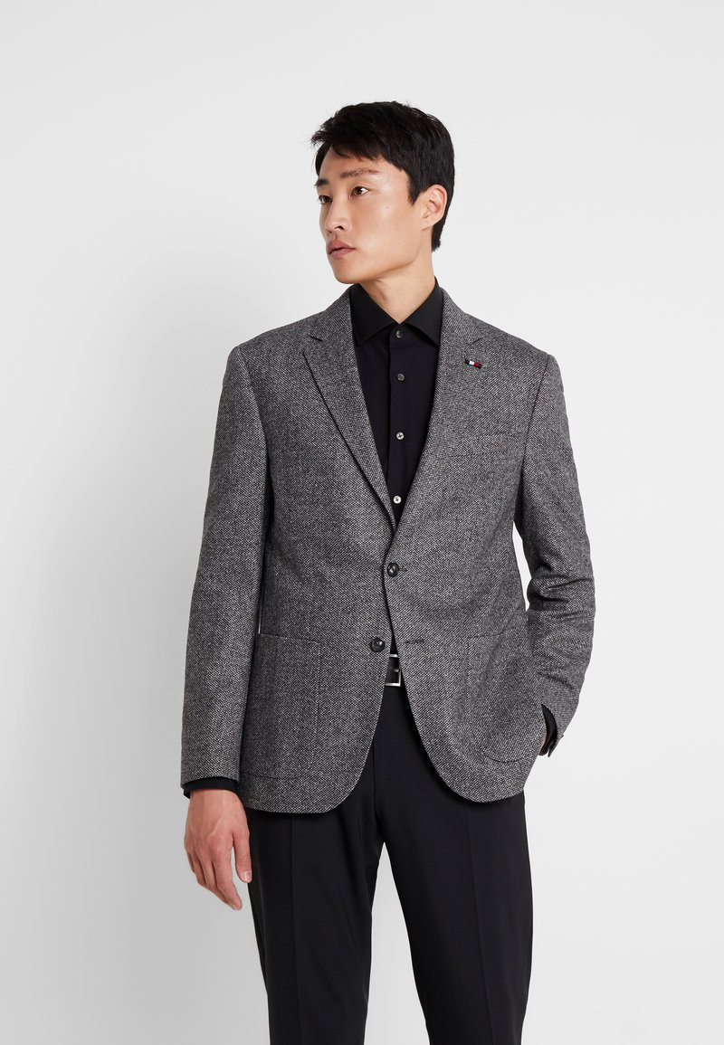 Tommy Hilfiger Tailored - BLEND REGULAR BLAZER - Suit jacket - grey