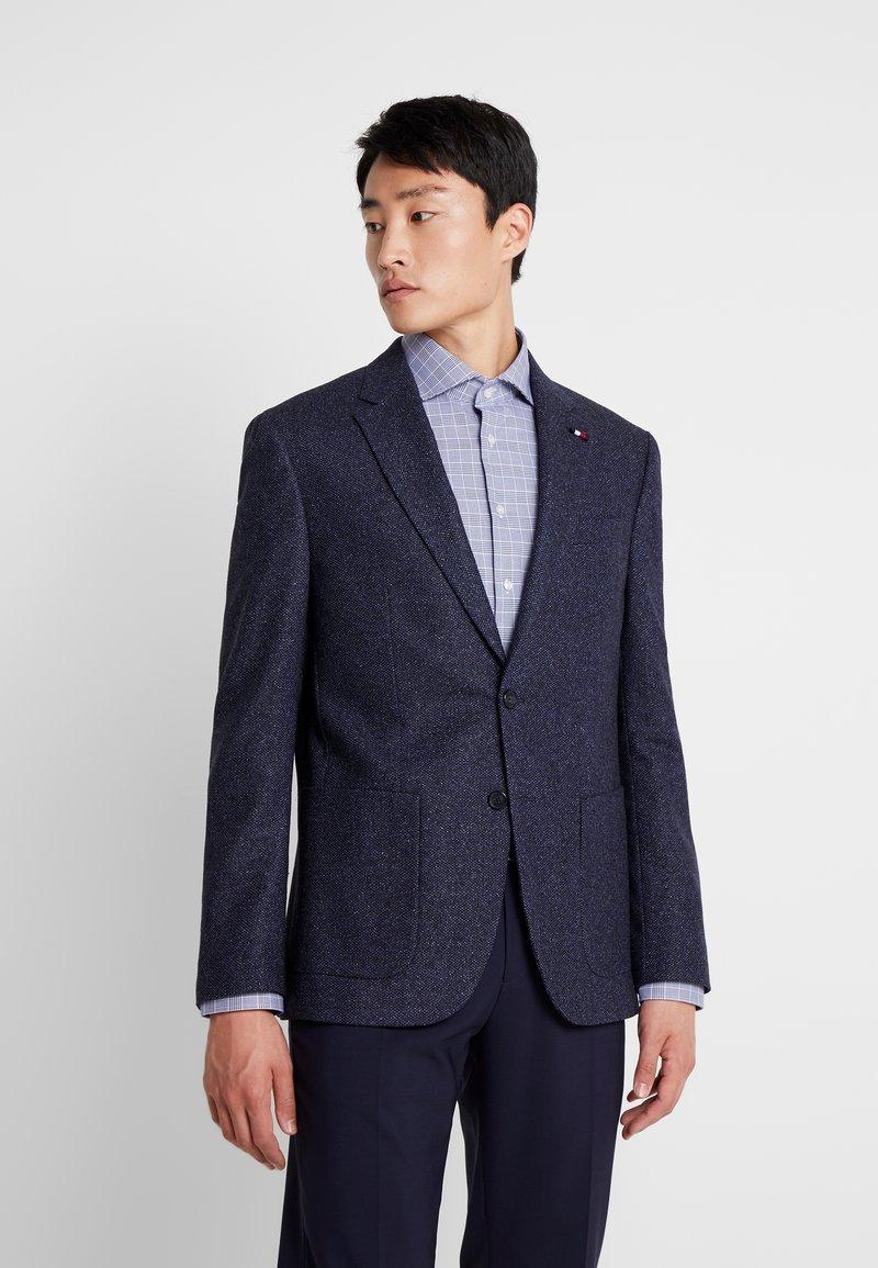 Tommy Hilfiger Tailored - BLEND REGULAR BLAZER - Anzugsakko - blue