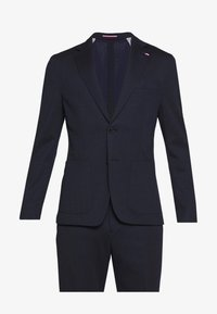 Tommy Hilfiger Tailored - PACKABLE SLIM FLEX STRIPE SUIT - Oblek - blue - 10