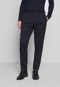 Tommy Hilfiger Tailored - PACKABLE SLIM FLEX STRIPE SUIT - Oblek - blue - 4