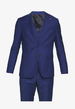 MICRO DESIGN SLIM FLEX SUIT SET - Kostym - blue