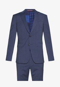 Tommy Hilfiger Tailored - SLIM FIT PEAK LAPEL SUIT - Garnitur - blue - 8