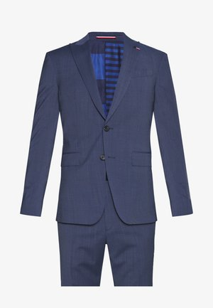 SLIM FIT PEAK LAPEL SUIT - Oblek - blue