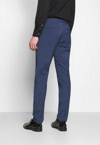 Tommy Hilfiger Tailored - SLIM FIT PEAK LAPEL SUIT - Garnitur - blue - 5
