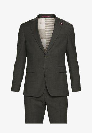 SLIM FIT PEAK LAPEL SUIT - Oblek - grey