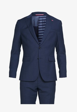 SLIM FIT PEAK LAPEL SUIT - Puku - blue