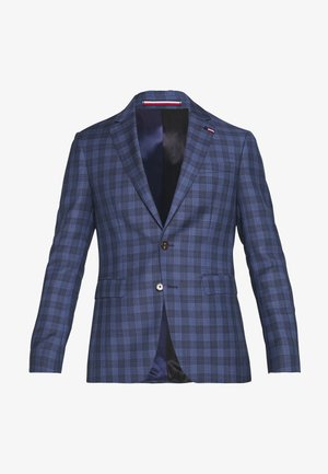 CHECK SUIT SLIM FIT - Garnitur - blue
