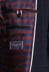 Tommy Hilfiger Tailored - SLIM FIT CHECK SUIT - Garnitur - blue - 8