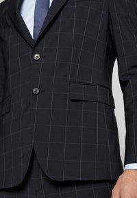 Tommy Hilfiger Tailored - SLIM FIT CHECK SUIT - Garnitur - blue - 7