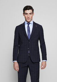 Tommy Hilfiger Tailored - SLIM FIT CHECK SUIT - Garnitur - blue - 2