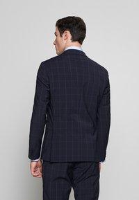 Tommy Hilfiger Tailored - SLIM FIT CHECK SUIT - Garnitur - blue - 3