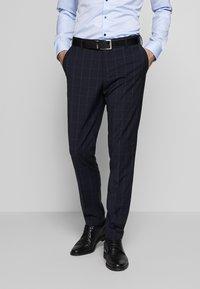 Tommy Hilfiger Tailored - SLIM FIT CHECK SUIT - Garnitur - blue - 4