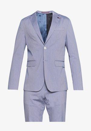 MINI STRIPE FLEX SLIM FIT SUIT - Oblek - blue