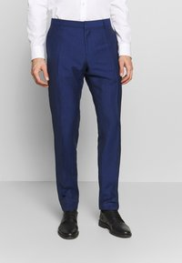 Tommy Hilfiger Tailored - PIECE WOOL BLEND SLIM SUIT - Costume - blue - 4