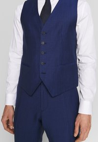 Tommy Hilfiger Tailored - PIECE WOOL BLEND SLIM SUIT - Costume - blue - 9