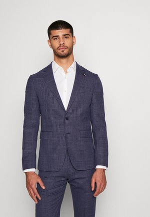FLEX MINI STRUCTURE SLIM  SUIT - Oblek - blue