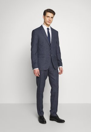 BLEND  SLIM FIT SUIT - Oblek - blue