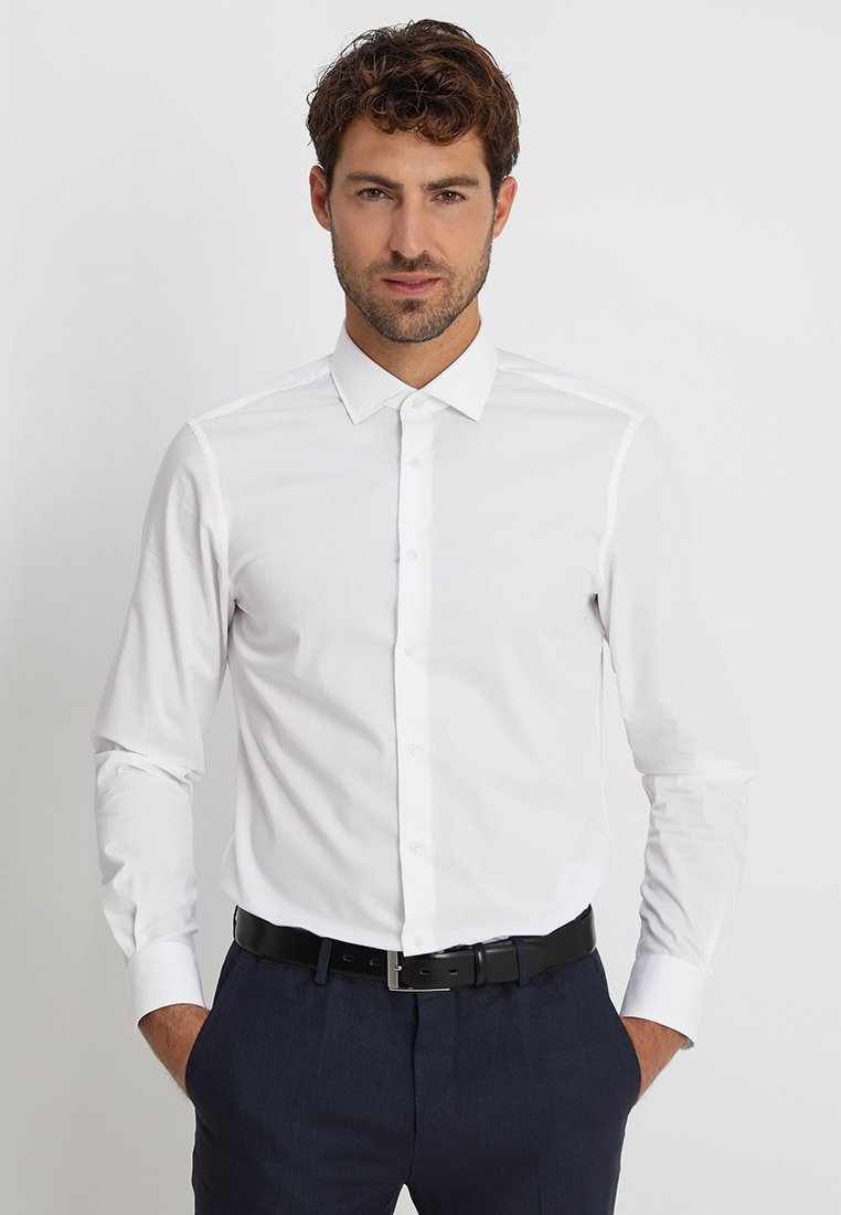 Tommy Hilfiger Tailored - SLIM FIT - Koszula biznesowa - white