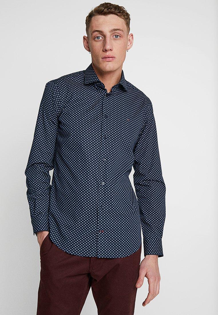 Tommy Hilfiger Tailored - STRETCH CLASSIC SLIM SHIRT - Hemd - blue