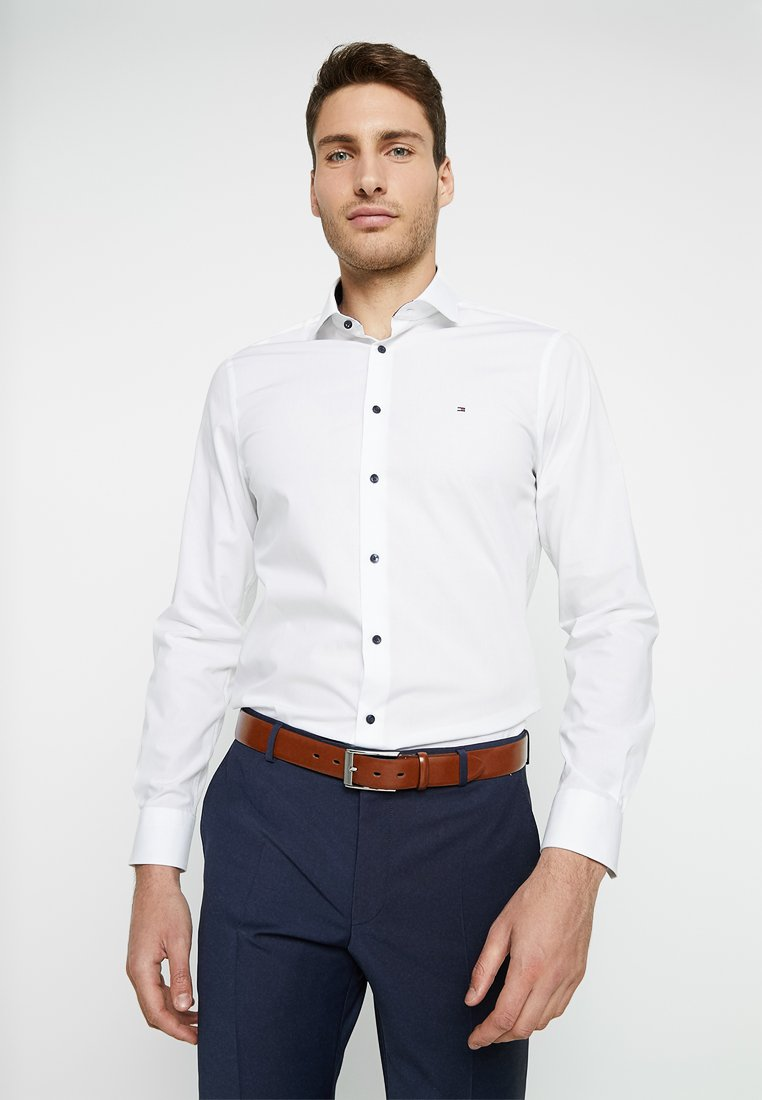 Tommy Hilfiger Tailored - STRETCH CLASSIC SLIM - Businesshemd - white