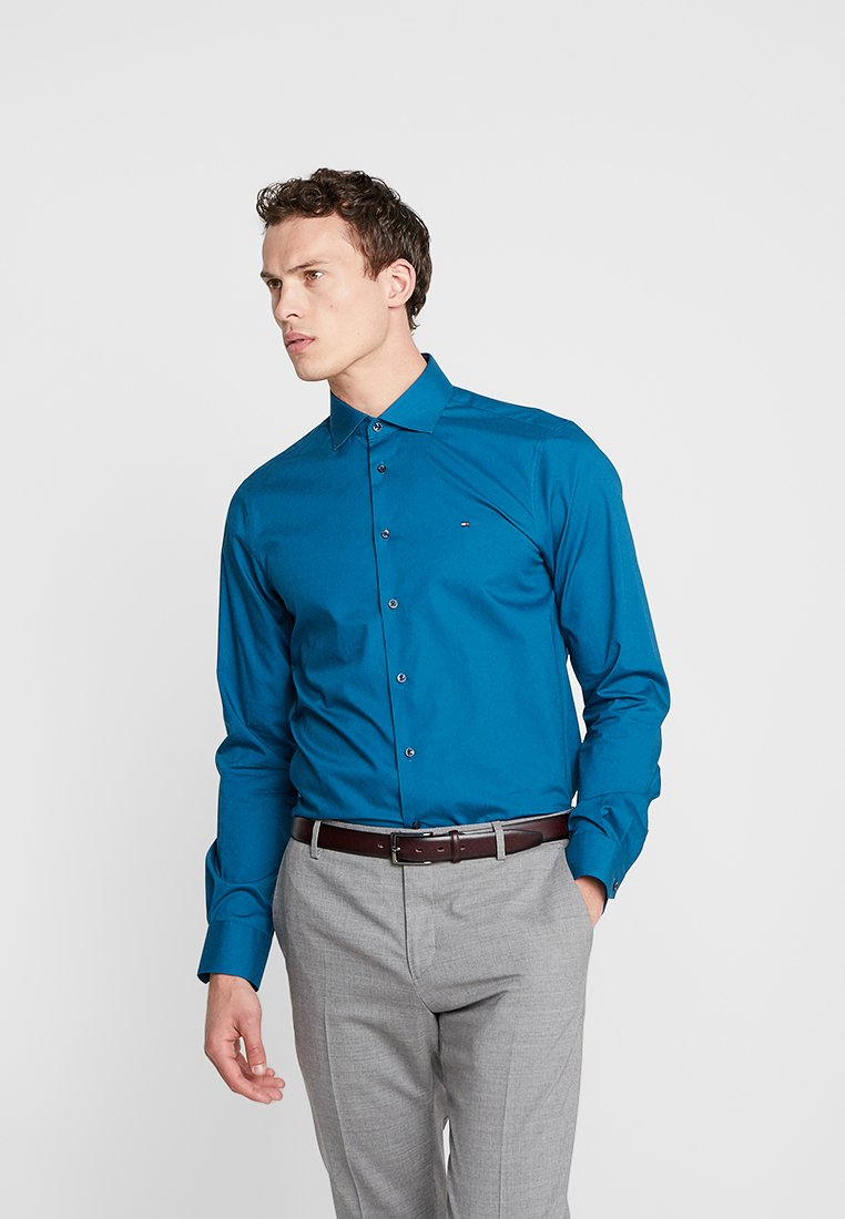 Tommy Hilfiger Tailored - STRETCH CLASSIC SLIM - Formal shirt - blue
