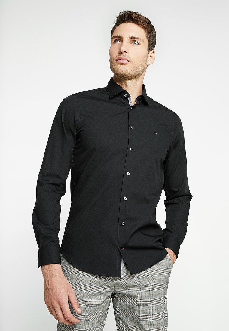 Tommy Hilfiger Tailored - POPLIN CLASSIC SLIM FIT - Koszula biznesowa - black