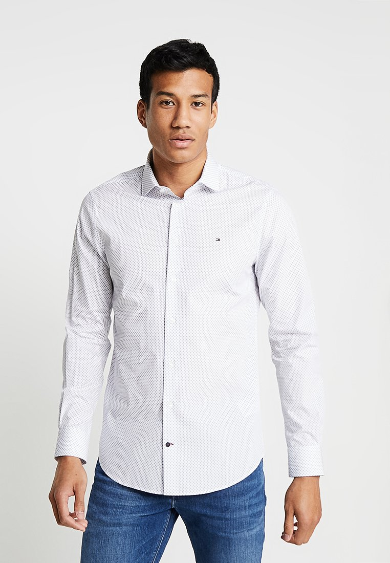 Tommy Hilfiger Tailored - PRINT CLASSIC SLIM - Shirt - white