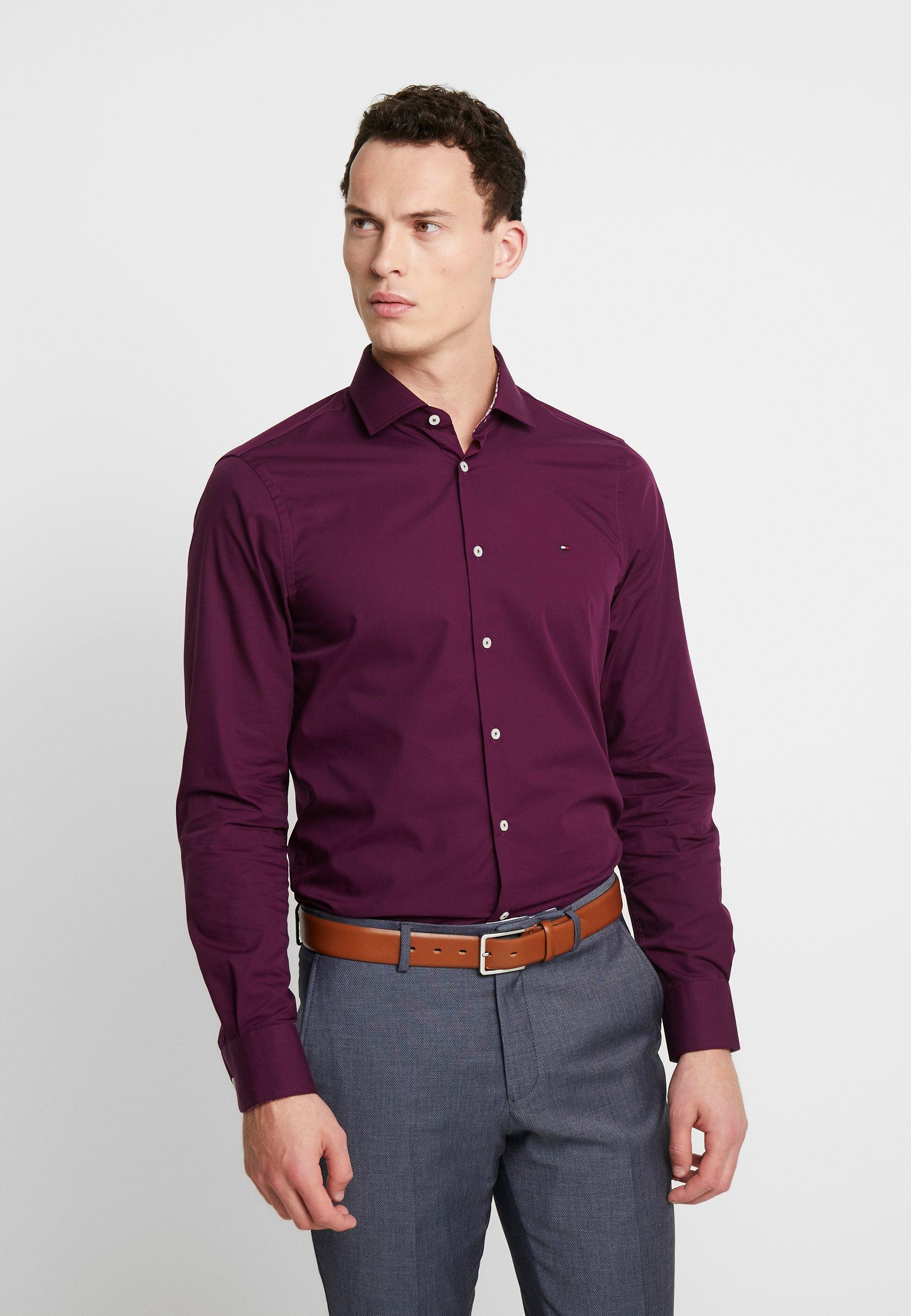Tommy Hilfiger Tailored POPLIN CLASSIC SLIM SHIRT - Koszula biznesowa - purple