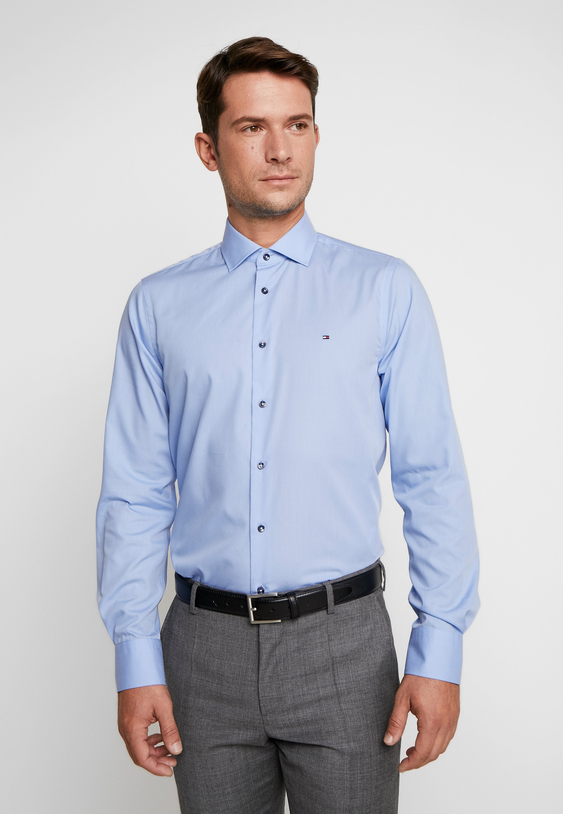 Tommy Hilfiger Tailored POPLIN CLASSIC SLIM SHIRT - Koszula biznesowa - blue