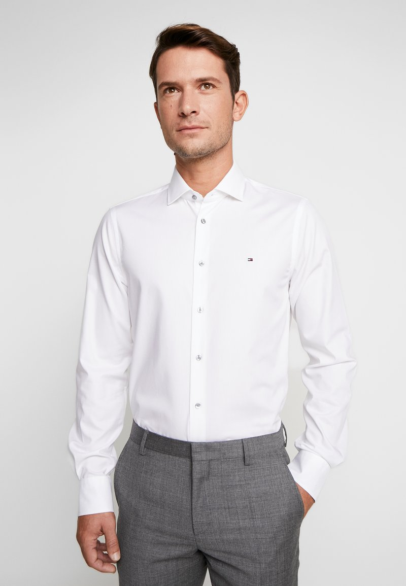 Tommy Hilfiger Tailored - OXFORD CLASSIC SLIM FIT - Kostymskjorta - white