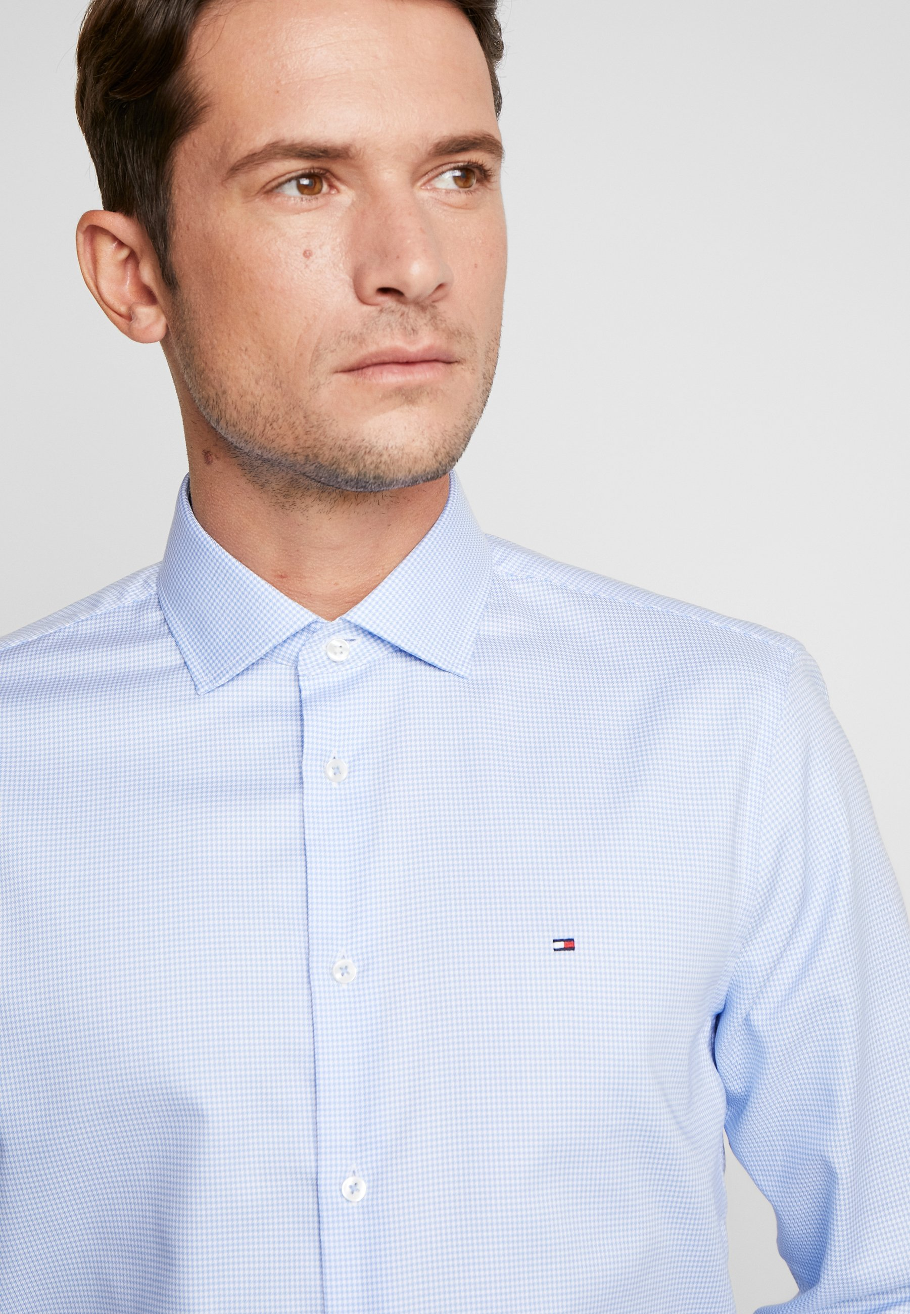 Tommy Hilfiger Tailored Classic Slim Shirt - Formal Blue UK