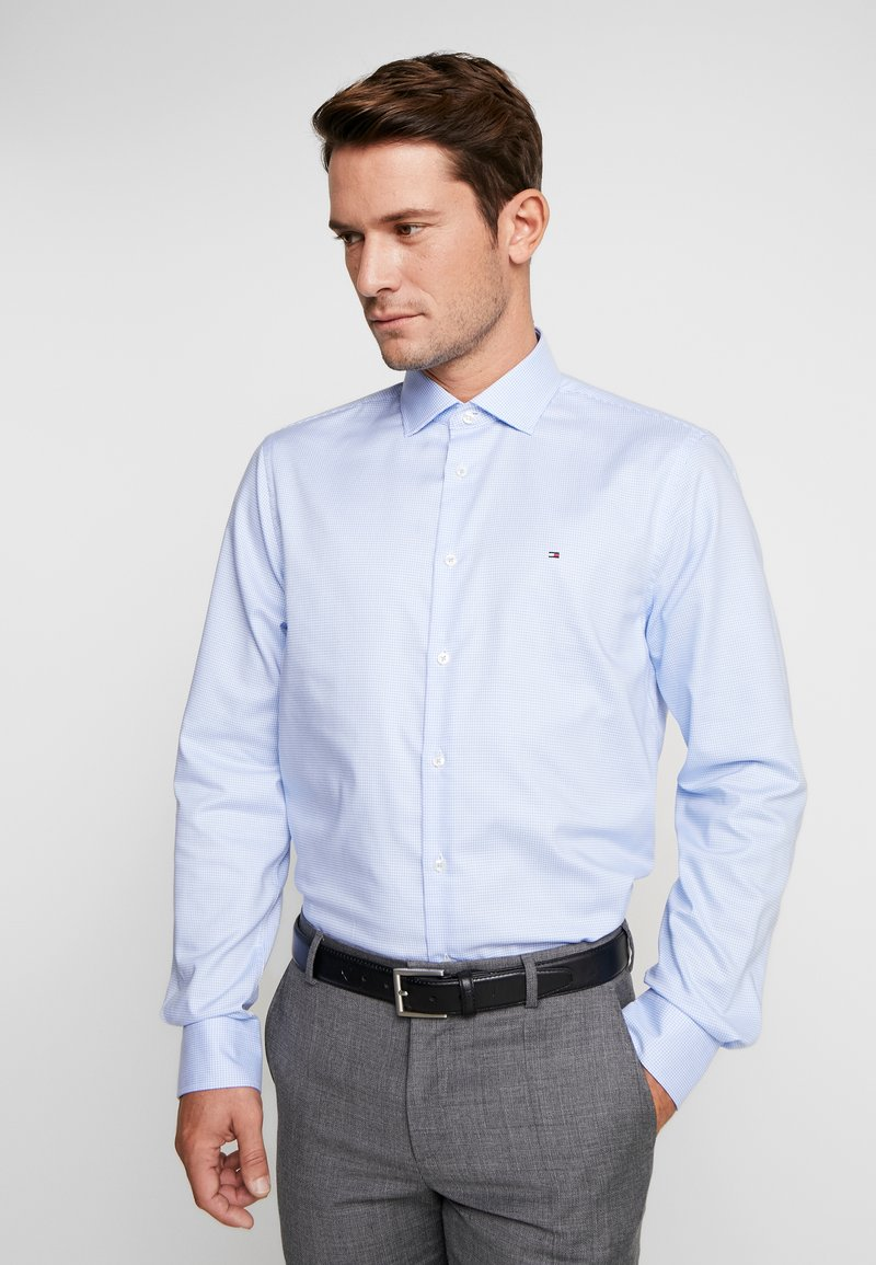 Tommy Hilfiger Tailored - CLASSIC SLIM SHIRT - Camicia elegante - blue