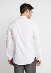 Tommy Hilfiger Tailored - POPLIN BAND COLLAR SLIM  FIT - Camicia - white - 2