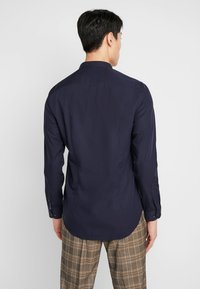 Tommy Hilfiger Tailored - POPLIN BAND COLLAR SLIM  FIT - Shirt - blue - 2