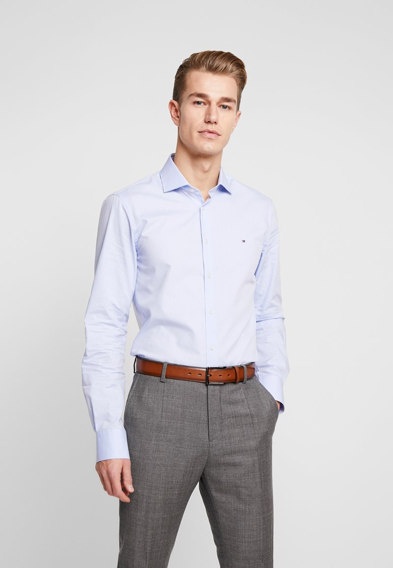 Tommy Hilfiger Tailored - DOBBY DESIGN CLASSIC SLIM FIT - Formální košile - blue