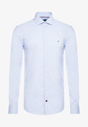 DOBBY DESIGN CLASSIC SLIM FIT - Finskjorte - blue