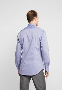 Tommy Hilfiger Tailored - DOBBY DESIGN CLASSIC SLIM FIT - Camicia elegante - blue - 2