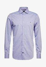 DOBBY DESIGN CLASSIC SLIM FIT - Formální košile - blue