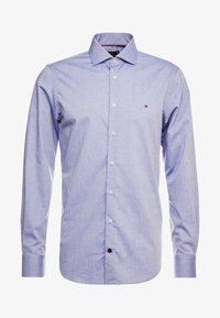 Tommy Hilfiger Tailored - DOBBY DESIGN CLASSIC SLIM FIT - Camicia elegante - blue - 5